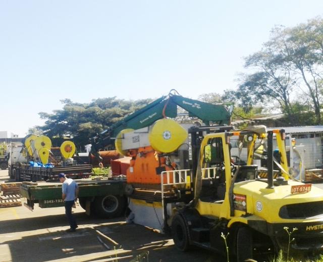 Remoções de maquinas e equipamentos