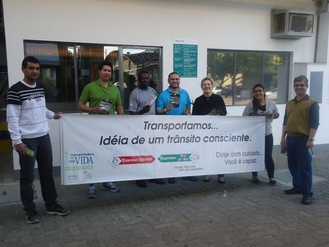 Vídeo das Ações Programa Transportadora da Vida